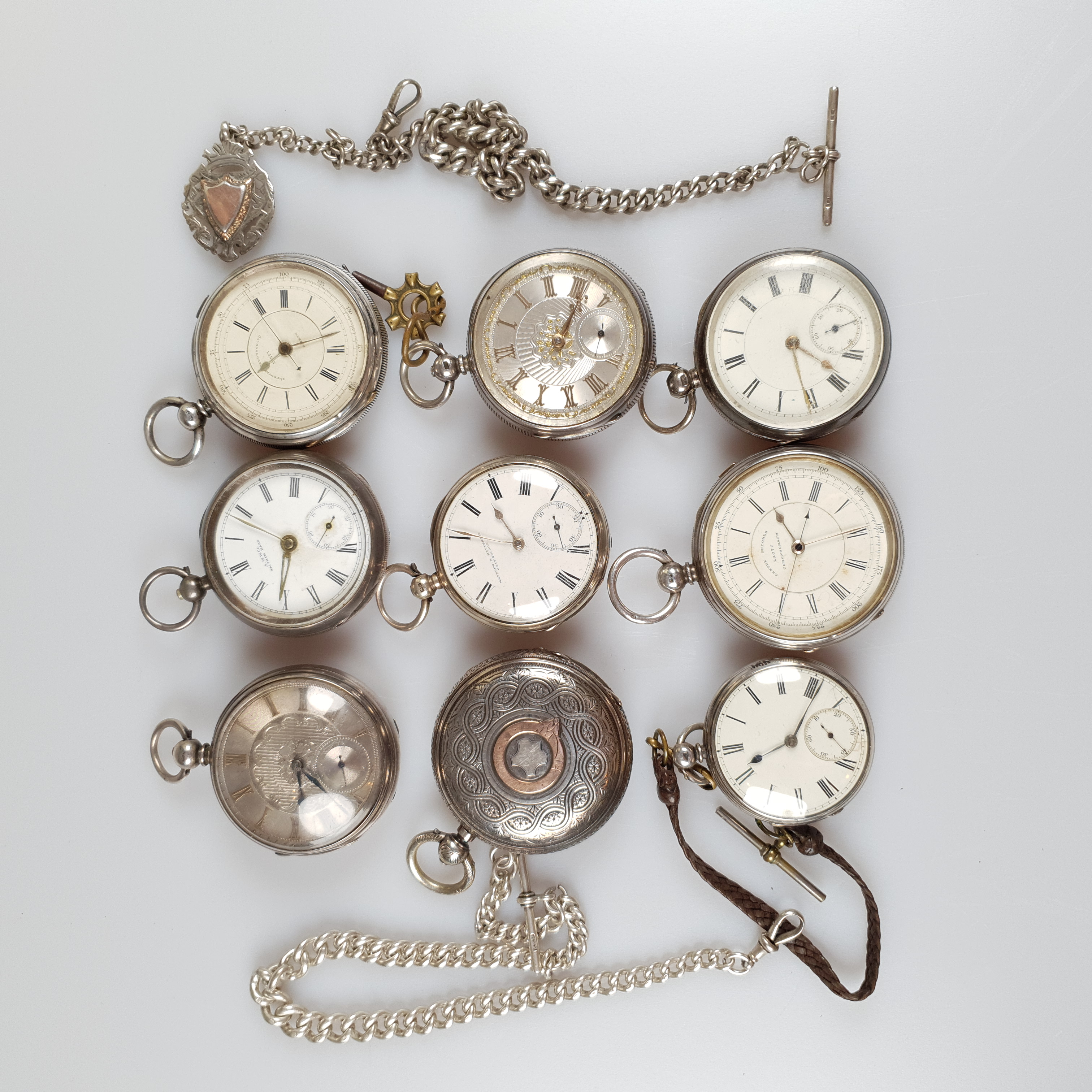 Silver Pocket Watches